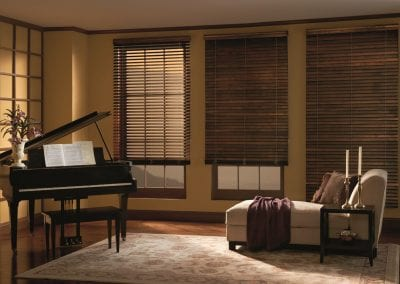 fake wood blinds