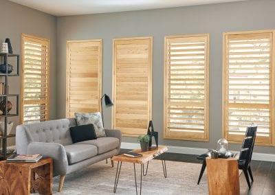 custom wood shutters